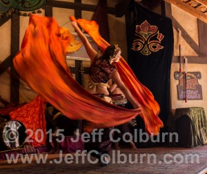 Dancer from The Jamila Lotus Dance Carnivale.
