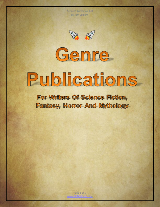Genre Publications List